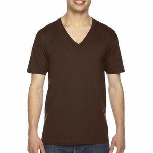 American Apparel   unisex jersey v-neck   NWOT